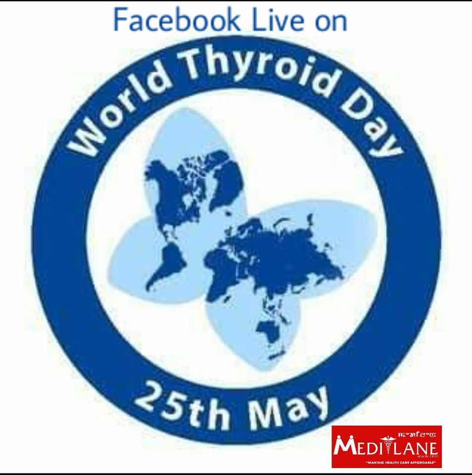 Facebook Live On World Thyroid Day