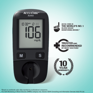 Accu-Chek Active Glucose Monitoring System Self Testing