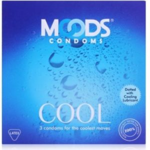 Moods SILVER COOL Condom (Pack of 10) Condom  (Set of 3, 30S)