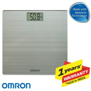 Omron Ultra Thin Automatic Personal Digital Weight Scale  4 Sensor Technology
